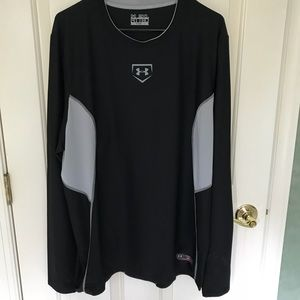 Under Armour Heat Gear Long Sleeve Shirt. Sz. 2XL